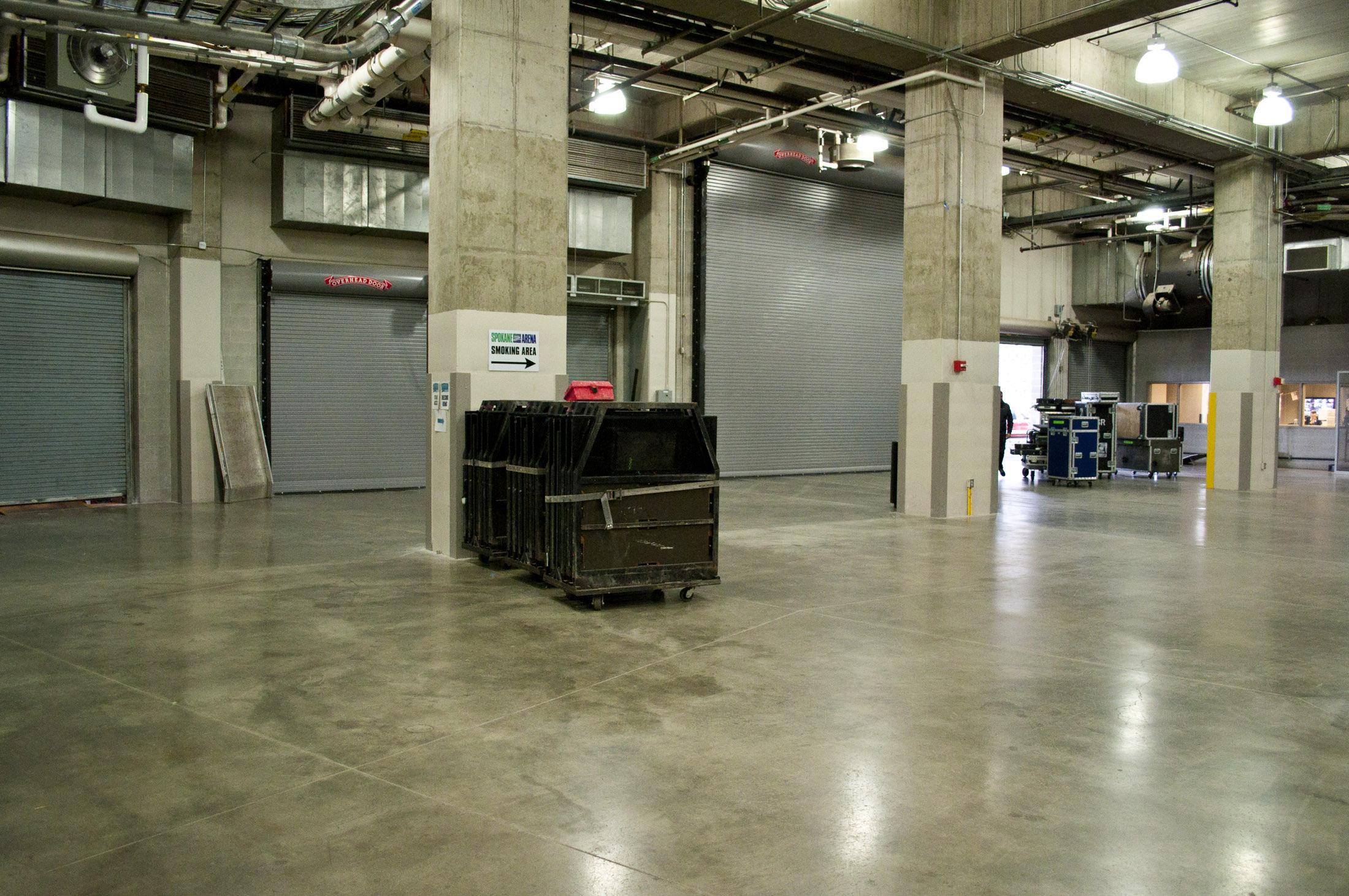 Spokane Arena Facility Information
